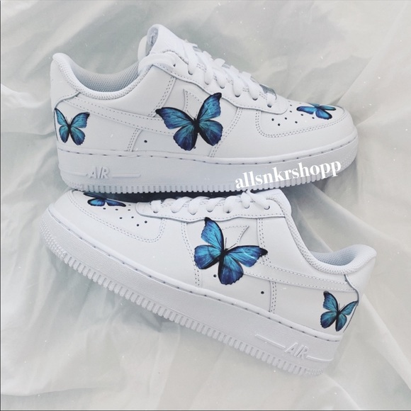 air force butterfly shoes
